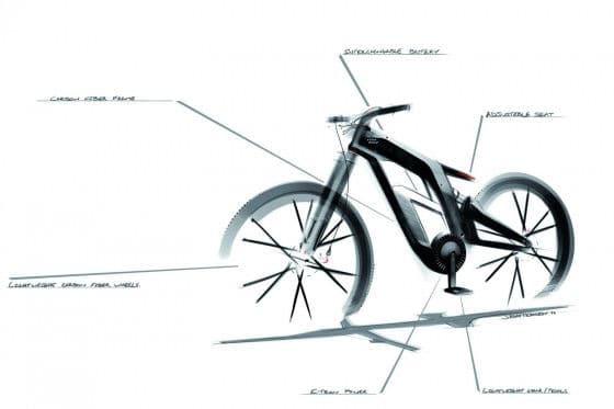 Audi electric bike concept