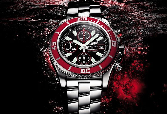 Breitling-Superocean-Chronograph-II-Red-1