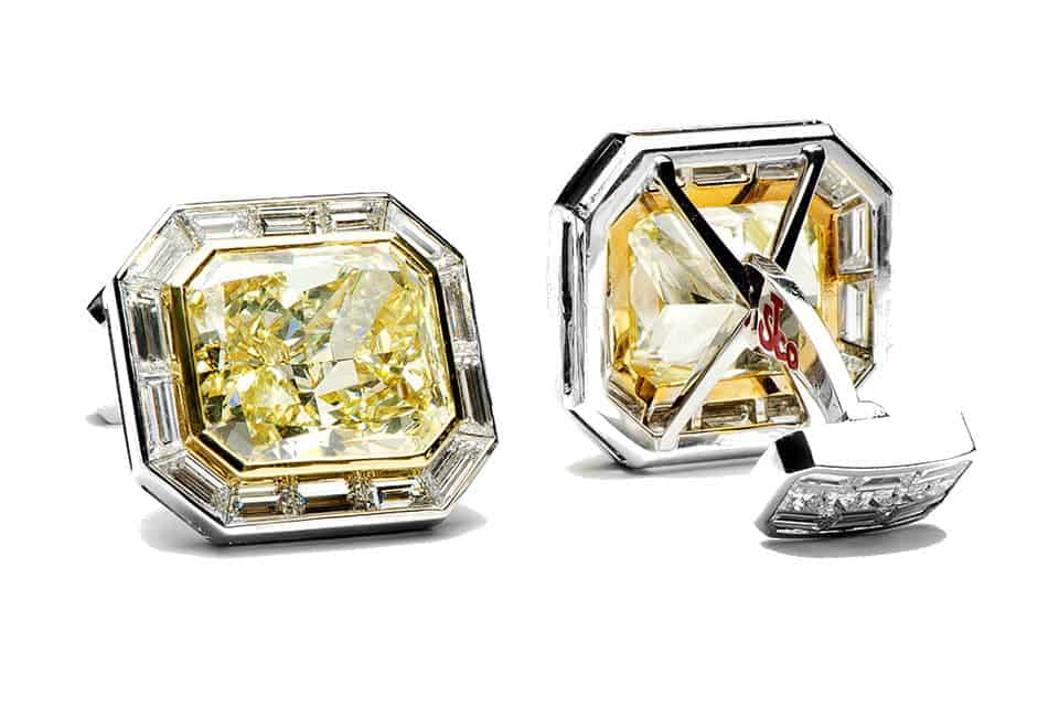 jacob-canary-diamond-cufflinks