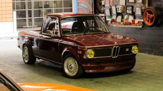 BMW 16002 Converted Into a El Camino Truck  Unfinished Man