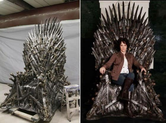 Game of Thrones Throne of Swords Game of Thrones Iron Throne
