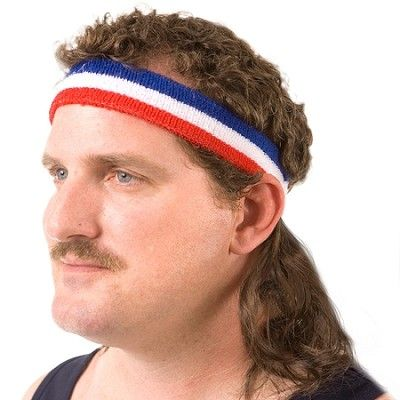 mullet on the go, fake mullet
