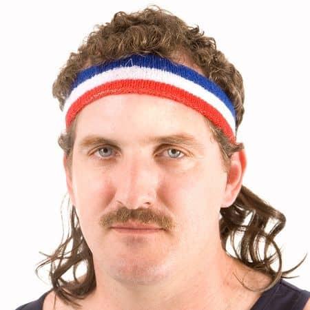Mullet-Headband