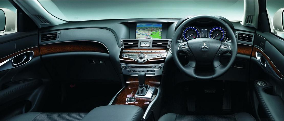 Gadget Magazine: Mitsubishi Enters Luxury Segment With Proudia