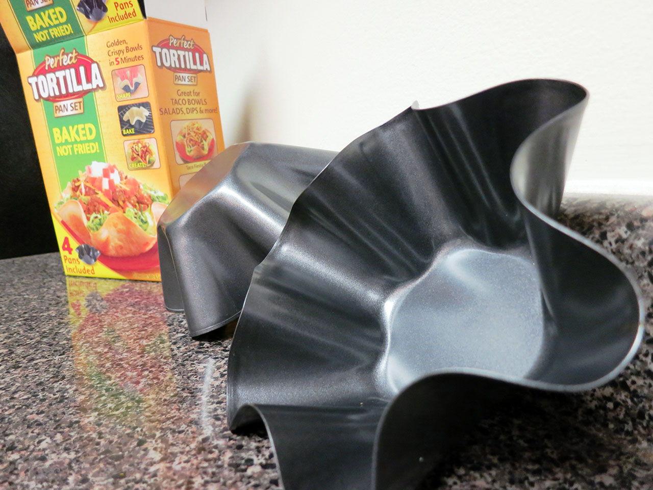 perfect tortilla bowl instructions