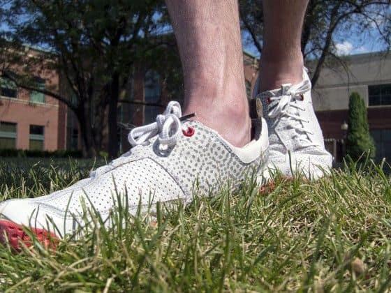 white skora shoe