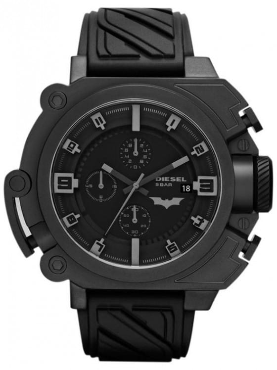 The Dark Knight Rises official merchandising Diesel-Batman-Watch-1-e1343974009113