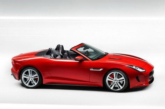 2013 Jaguar F-Type Roadster Side