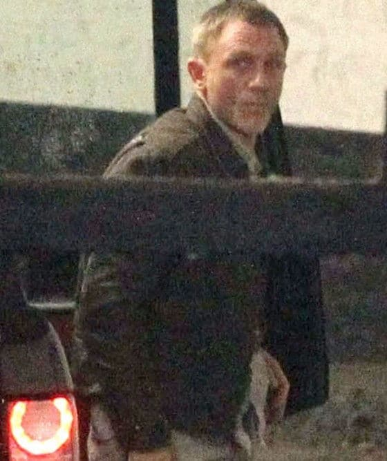 Daniel Craig James Bond Skyfall brown leather jacket