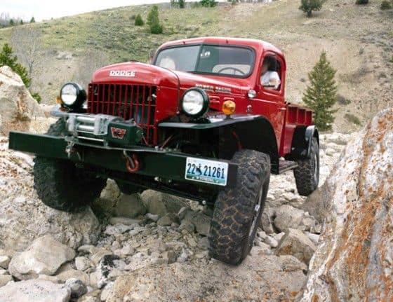 Legacy Classic Truck rock crawling