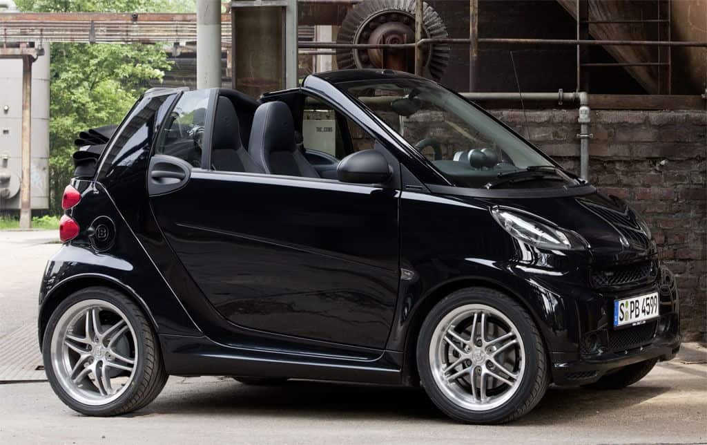 smart fortwo by brabus unfinished man. Black Bedroom Furniture Sets. Home Design Ideas