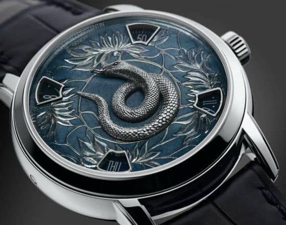 Vacheron Constantin Year of the Snake platinum watches