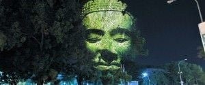 3D Projections on Trees – Clement Briend in Cambodia