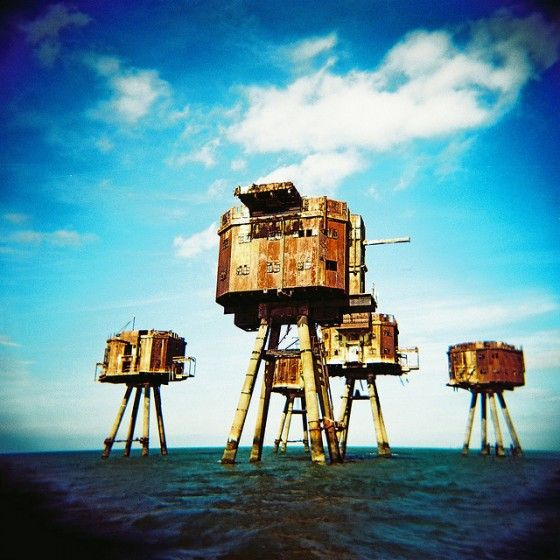 Maunsell-Sea-Forts-England