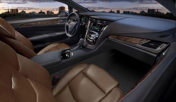 2014 Cadillac ELR interior front