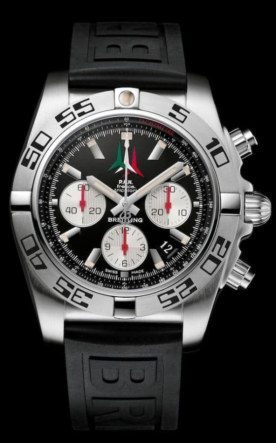 Breitling-Chronomat-44-Frecce-Tricolori-Watch-4
