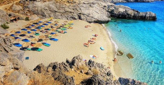 Crete Greece beach