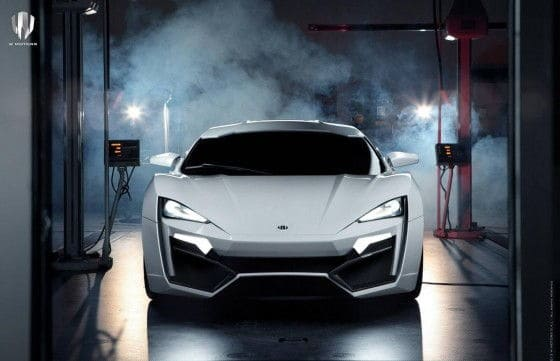 First Arab Supercar – W Motors Lykan Hypersport