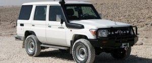 The Jankel Armored Toyota 76 Land Cruiser