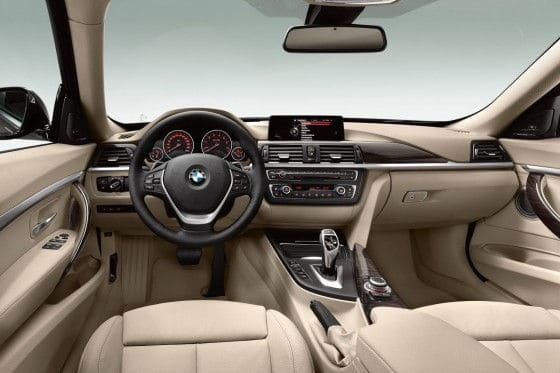 Interior of 3-Series Gran Turismo