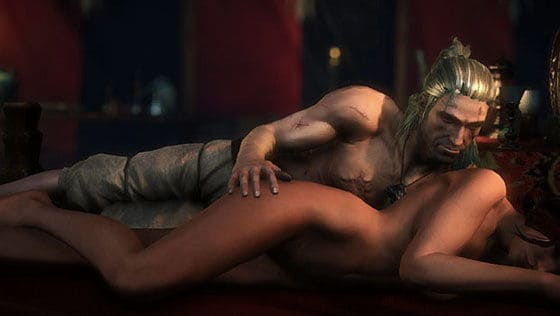 witcher2-love-scene