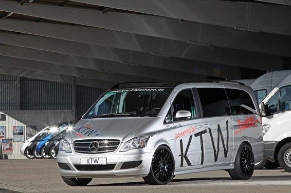 Mercedes Viano tuner van