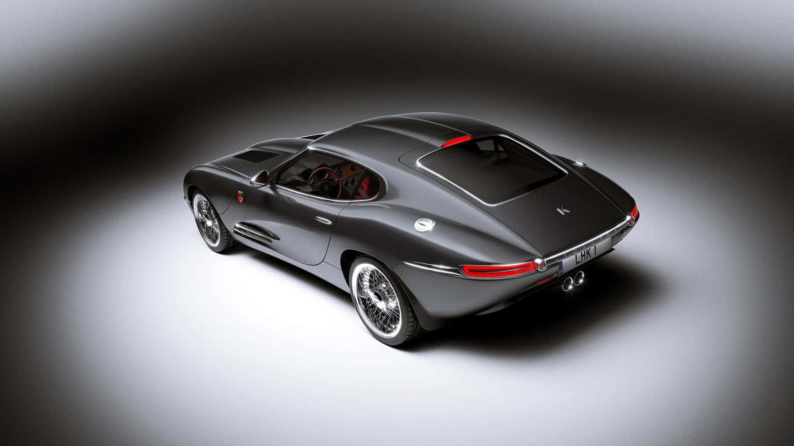 Modern day Jaguar E-Type