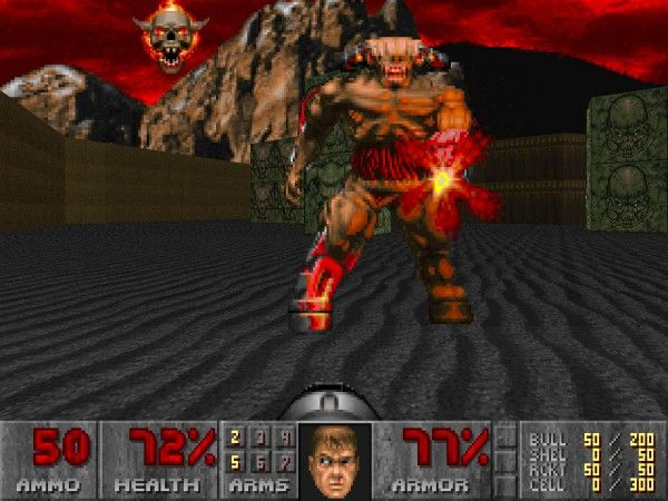cyberdemon in doom