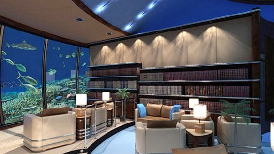 undersea library