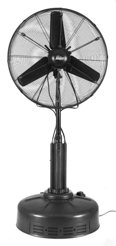 Misting Fans System : Summer breeze hoseless auramist cooling fan system