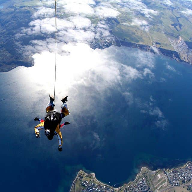 Skydive at hight altitude