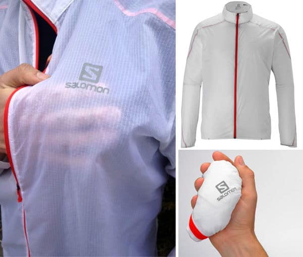 The Salomon S-Lab Light Jacket Windbreaker - Unfinished Man