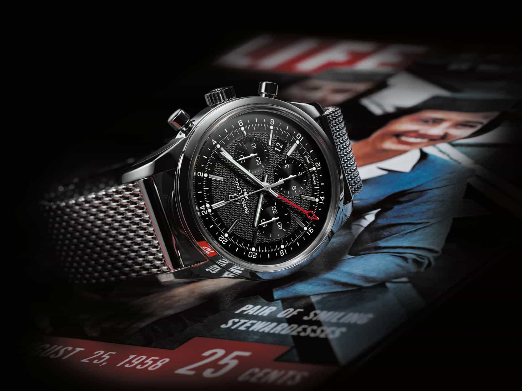 Breitling Transocean GMT