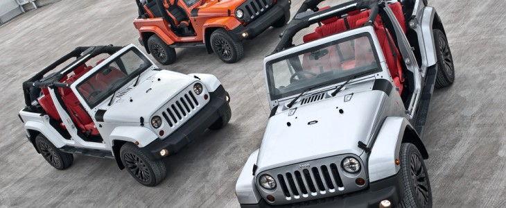 Kahn Design Jeep Wranglers