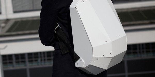 Hardshell backpack Solid-Gray
