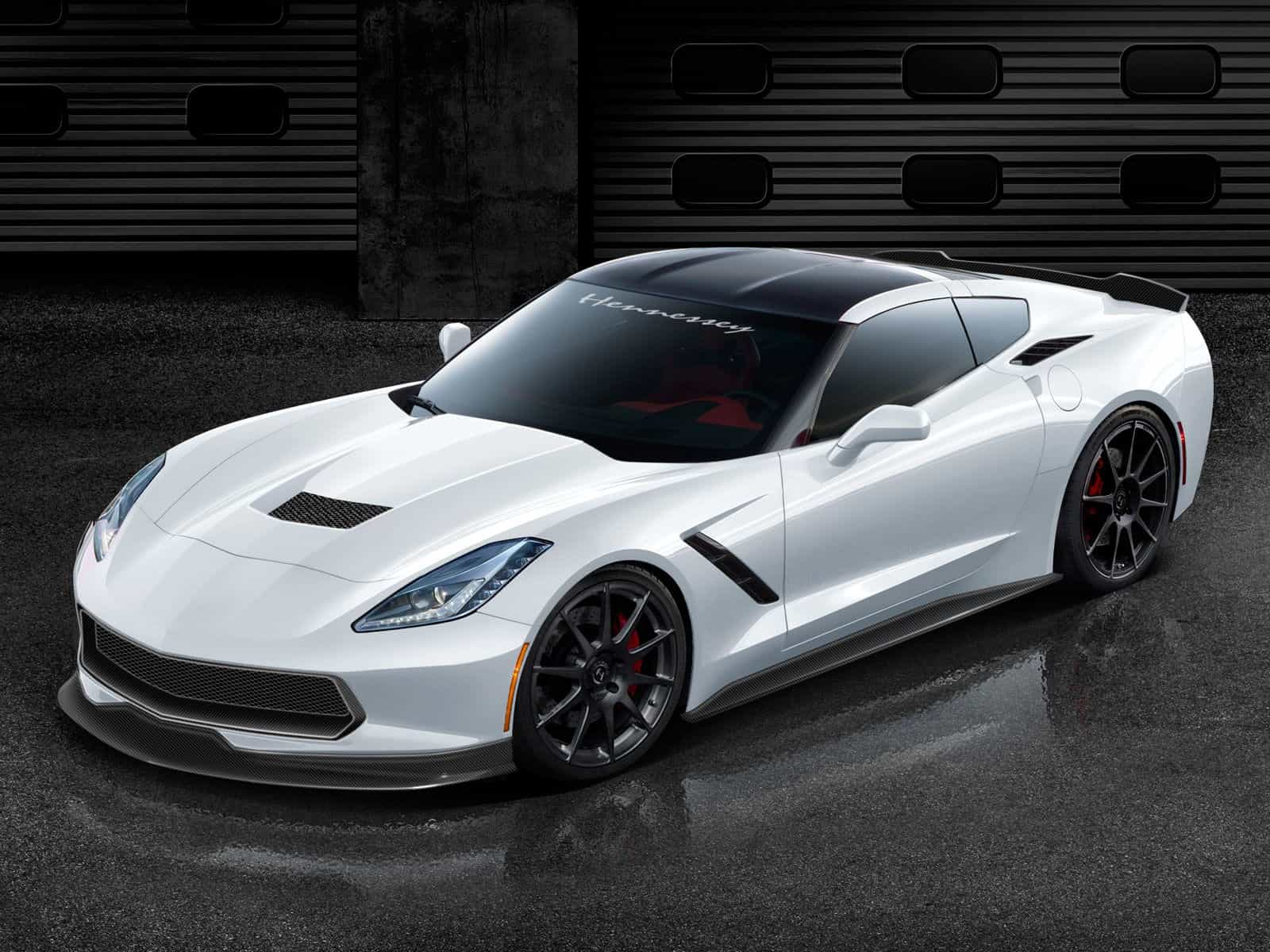 Hennessey Performance tuned C7 Corvette
