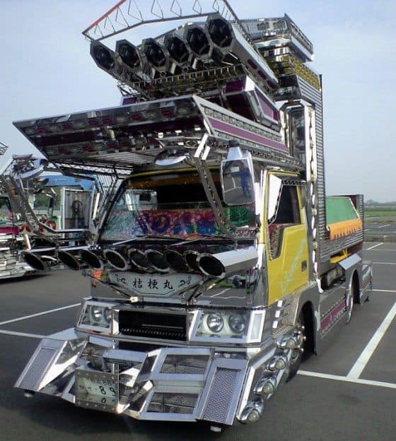 Japanese chrome truck