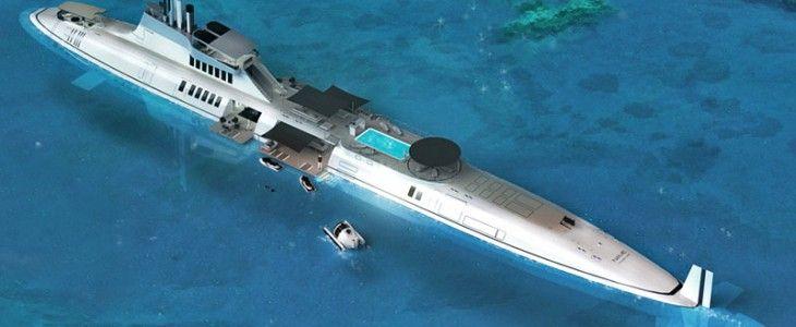 Migaloo Yacht Submarine