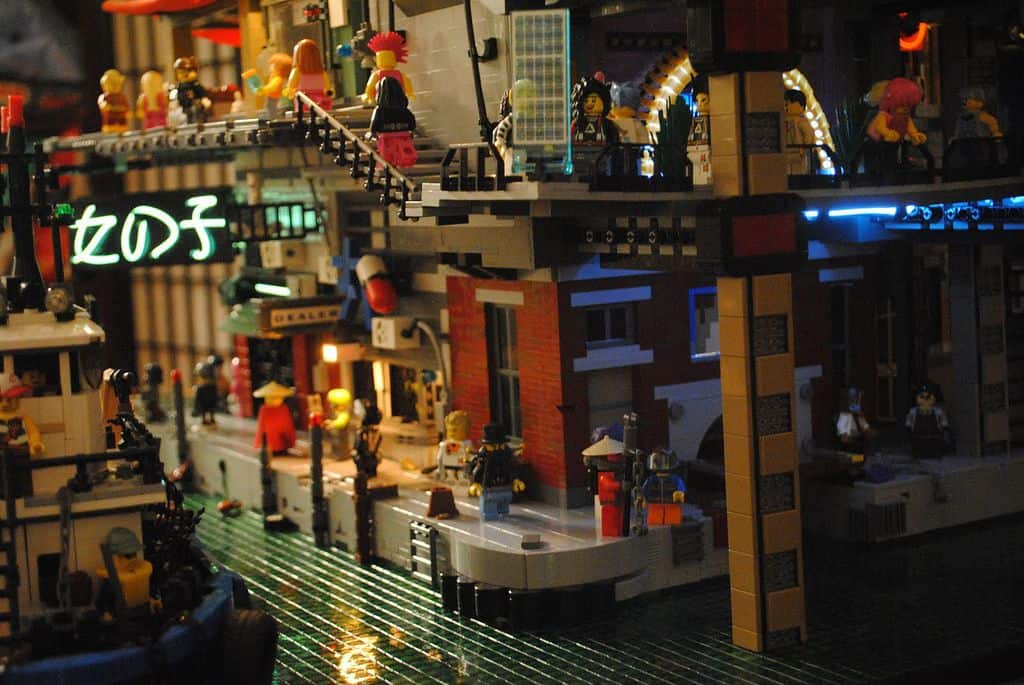 The Ultimate Cyberpunk Lego City Cyberpocalypse At