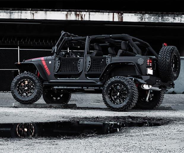 Subwoofer Jeep Wrangler Starwood Motors El Diablo: Custom Jeep Wrangler ...