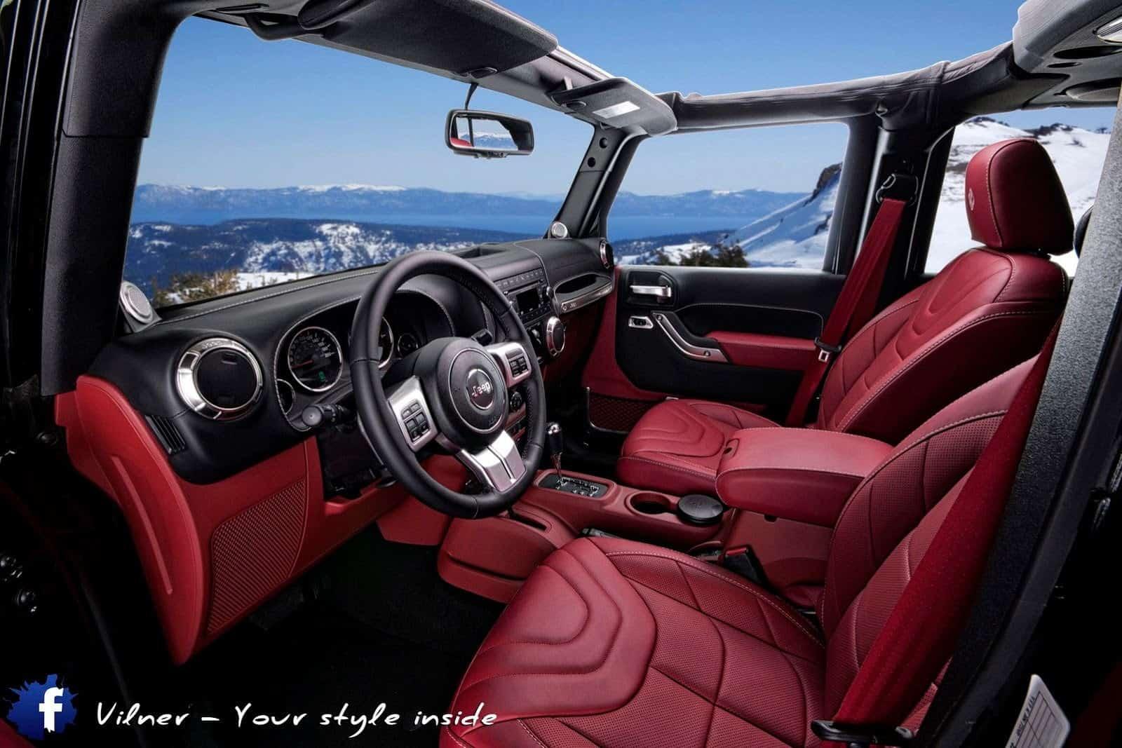vilner tuned jeep wrangler unlimited sahara. Black Bedroom Furniture Sets. Home Design Ideas