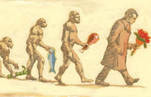 valentines day evolution