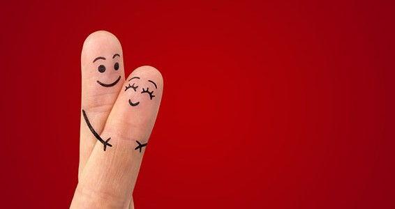 loving valentines fingers