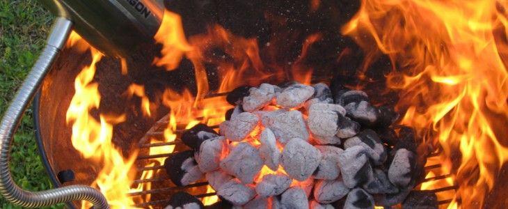 Barbecue dragon fan