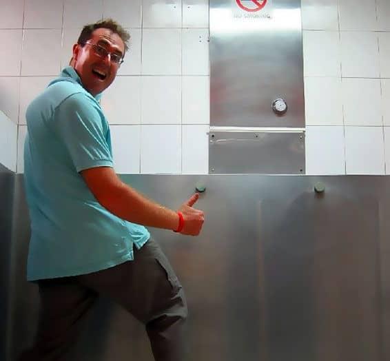 Shake it after peeing