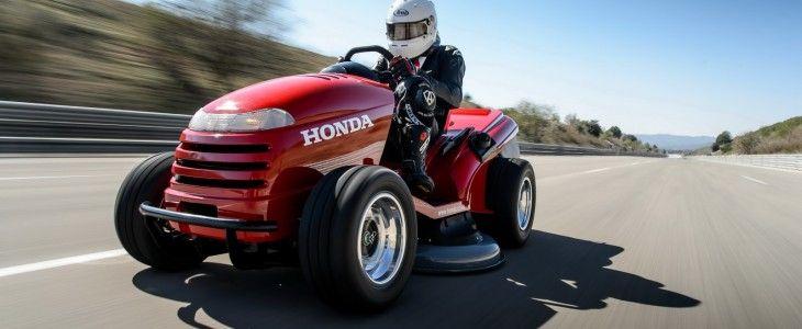 fastest honda lawn mower