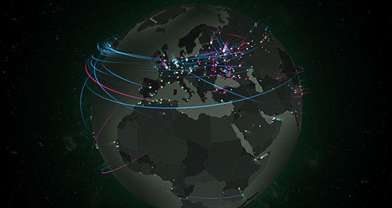 cyber attacks map