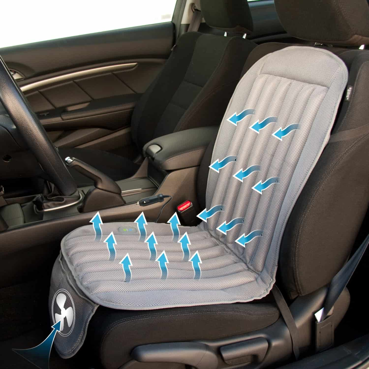 Keep Cool With The Wagan Cooling Car Seat Cushion