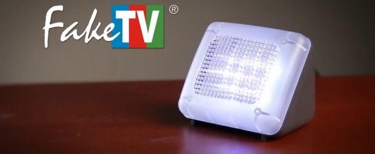 FakeTV alarm system