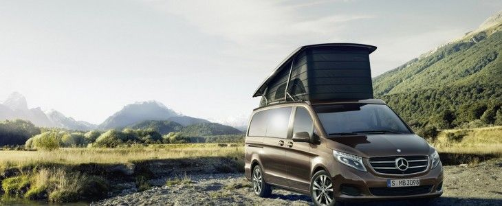 Mercedes V-Class camper van
